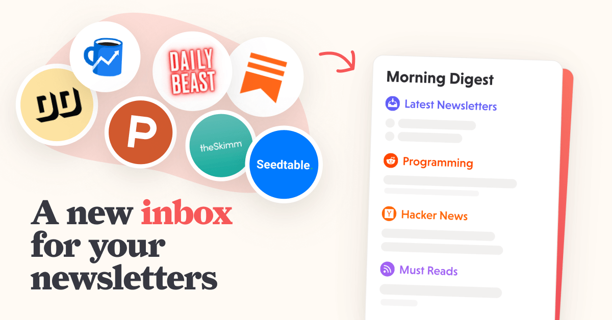 A new inbox for your newsletters